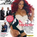 K. Michelle Cover The September 2013 Issue Of Sister 2 Sister Magazine