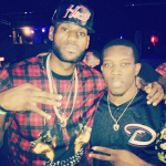 Dope Or Nope? LeBron James In A $592 Givenchy Twin Doberman Print Tee-Shirt