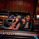 Exclusive Photos Of Meek Mill & Nicki Minaj In The Studio