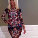 Nicki Minaj Parties In An Alexander McQueen Dress & Pics Of Her Popping Bottles With Keyshia Cole, Tyga & The Game