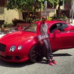 Celebs Fashion: Soulja Boy & Sean Kingston Rocks A $98 Red Pyramid Sweater By Golden Hanger