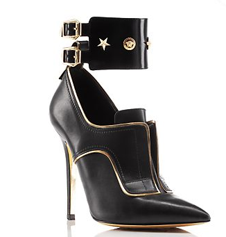 Versace-Studded-Ankle-Cuff-Booties