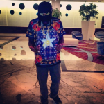 Dope Or Nope? Wale's Instagram $780 Givenchy Columbian Star Fit Cotton Jersey Tee-Shirt