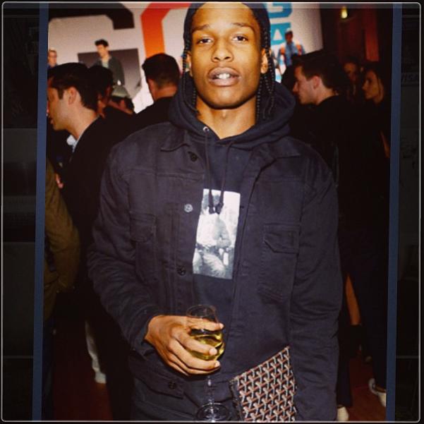 A$AP SUPREME X BASQUIAT HOODY