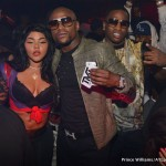 Lil Kim, Floyd Mayweather, Diddy, Meek Mill, French Montana & Juelz Santana Parties At Prive
