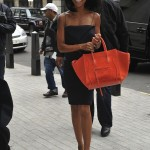 Brandy Carries A Céline Bag & Wears Giuseppe Zanotti Pumps In London