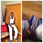 """Back 2 School Fashion: Bryce Council & Diondre Francis Sporting Reebok Question """"#1 Pick"""""""