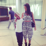 Draya Michele Wears A $185 Tribal Two Piece Outfit By Yere Designs