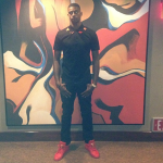 Dorell Wright Spotted In A $460 Givenchy Star & Striped Detail Polo & $785 Jon Buscemi Sneakers