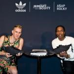 ASAP Rocky & Jeremy Scott Unveils adidas Originals 'Black Flag' Collaboration Sneaker During NYFW