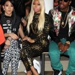 NYFW: Nicki Minaj & SB, Chanel Iman & A$AP Rocky And The Jonas Brothers Attend The Jeremy Scott Show