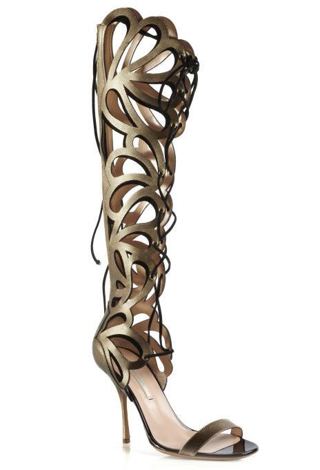 nicholas-kirkwood-spring-2013-printed-calf-and-suede-cutout-knee-high-sandals