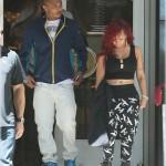 """T.I. & Tameka """"Tiny"""" Harris Photo'd Shopping In Los Angeles"""
