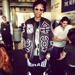 Wiz Khalifa Draped In Kokon to Zai