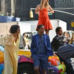 A$AP Rocky Shoots DKNY Ad Campaign With Models Cara Delevingne,  Jourdan Dunn & Elize Cummings