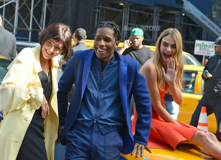 Asap rocky and cara delevingne dating