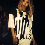 Ciara's $303 Kokon to Zai Oversized Relfect Tattoo Printed Tee-Shirt