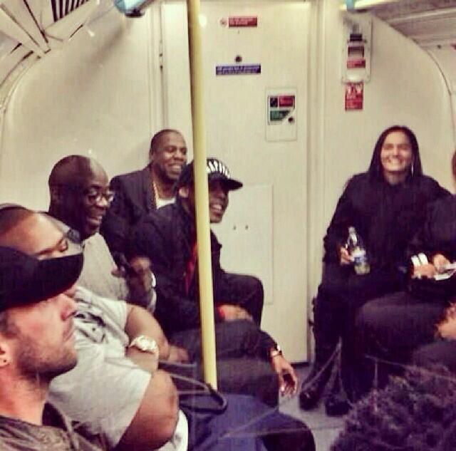 Jay-Z-Takes-The-Tube-to-London-O2-Arena