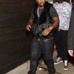Jeezy Wears A Mink Vest & Giuseppe Zanotti Sneakers/Belt To Club PRIVE In Atlanta