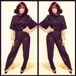 Kelly Rowland In Alon Livne & Christian Louboutin; Plus She Covers FASHIZBLACK Magazine