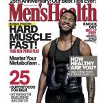 Usher For Men's Health 25th Anniversary November 2013 Issue