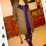 Get The Look: Rocsi Diaz's $368 Guess by Marciano Annika Military Coat