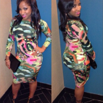 """Toya Wright Pairs A $92 Pink Lucy """"Vibrant Thing"""" Bodycon Dress With $895 Giuseppe Zanotti Center Zip Booties"""