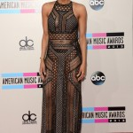 2013 American Music Awards Red Carpet: Ciara, Tyga, Jennifer Hudson, Akon, Naya Rivera, Nelly & MC Lyte