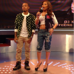 "Bow Wow In A $450 Members Club Star Studded Jacket & Air Jordan 5 Retro ""Fear Pack"""