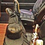 Thanksgiving Dopeness: Fabolous' Instagram'd $600 Balenciaga Arena High Trainers & $875 Just Don Mixed Exotics Brooklyn Cap