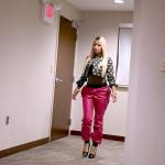 Get The Look: Nicki Minaj's $1,695 Moschino Polka Dot Jacket & $1,450 Giuseppe Zanotti Plated Ankle Boots