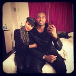 Keri Hilson & Serge Ibaka Boo'd Up During The Christmas Holiday