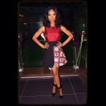 Fashion In The Motherland: Brandy's $1,937 Fausto Puglisi Contrast Panel Dress