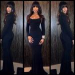 Kelly Rowland's Roland Mouret Dress