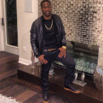 Kevin Hart Wears A $1,695 3.1 Phillip Lim Leather Cardigan With Combo Front & $600 Balenciaga Sneakers