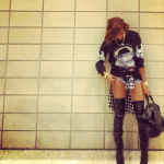 Spotted At The Houston Rockets Game: LeToya Luckett In A $1,215 Givenchy Flag And Jaws Sweatshirt
