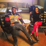 Flossing In Designers: Rico Love Photo'd In A $691 Givenchy Abstract Print Sweater & Giuseppe Zanotti Sneakers