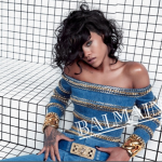 More Diversity In The Fashion Industry: Rihanna Is The Face Of Balmain's Spring/Summer 2014 Campaign