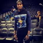 NBA Fashion: Serge Ibaka's $685 Givenchy Pin-Up Girl Sleeveless Hoodie