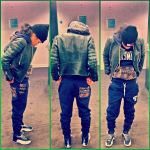 Teyana Taylor Sports A $79 Rocksmith Freetown Pullover & $75 Freetown Slim Sweats And A Celine Jacket