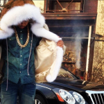 "Vado Films ""Look Me In My Eyes"" Visual In A Fur Coat And Ralph Lauren Denim & Supply"