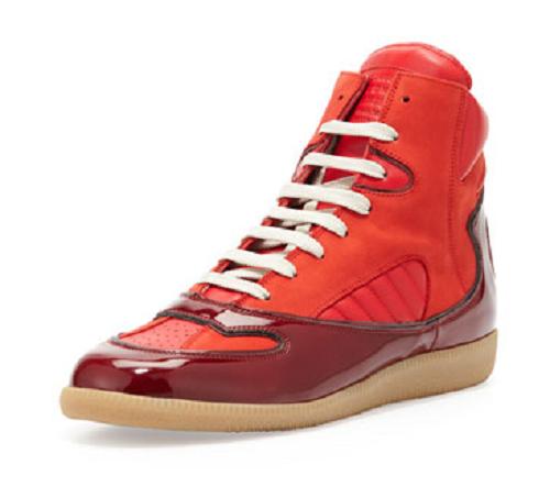 Mason Martin Margiela Contoured High-Top Sneaker1