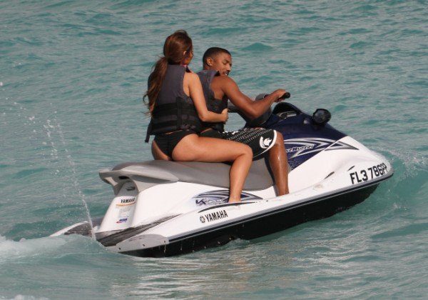 Actor Michael B. Jordan spotted out and about with a mystery woman in Miami Beach