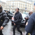 A$AP Rocky At Paris Fashion Week In $671 Adidas x Rick Owens Sculpted Sneakers