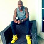 Kicks Of The Day: Chad Johnson's $1,050 Neon Giuseppe Zanotti Chain & Zipper Leather High-Top Sneakers