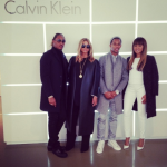Ciara & Future And Victor Cruz & Elaine Watley Attend Calvin Klein's Milan Fashion Week Show