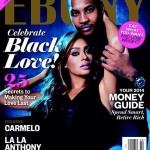 Lala & Carmelo Anthony And Mariah Carey & Nick Cannon Covers Ebony Magazine's 10 Hottest Couples February 2014 Issue