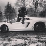 Swizz Beatz' Instagram'd $4,399 Balmain Quilted Cotton Parka