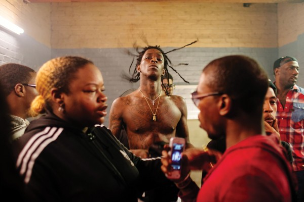 Rapper Young Thug, seen in Atlanta, Georgia December 2013.
