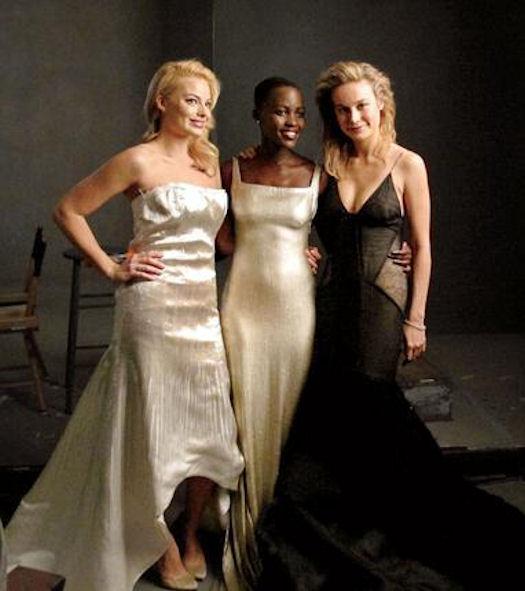 Lupita-Nyongo-Margot-Robbie-Brie-Larson-Vanity-Fair-2014-Hollywood-Issue